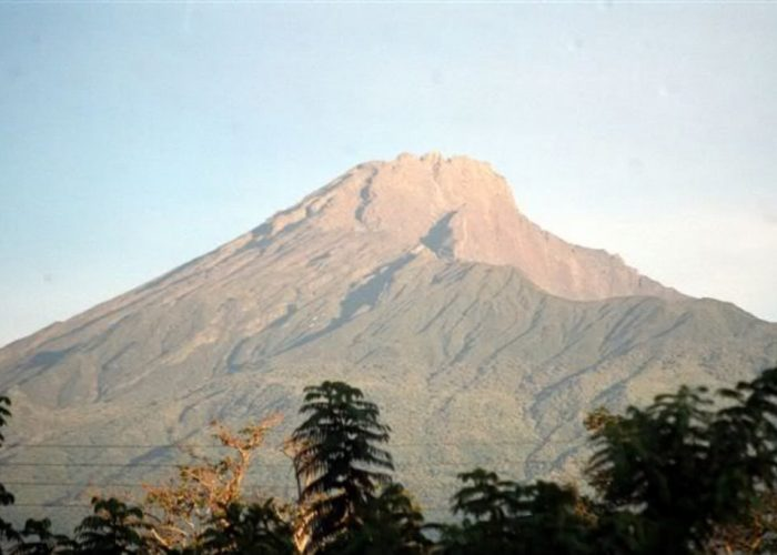 view of Mount Meru in Arusha